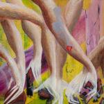 Art The Silent Healer 24x30 oil on canvas $1200.